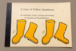 A gust of yellow gumboots