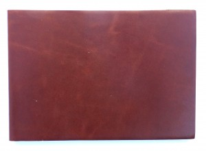 Journal A5 Ldscpe thin leather cover