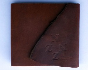 Journal Scare leather cover NZ